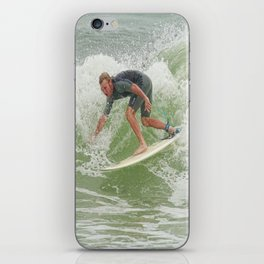 Ponce Surfer 121611 iPhone Skin