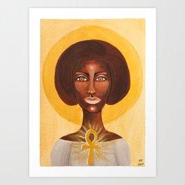 Goddess no 9 Art Print