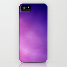 Pink and Purple Abstract iPhone Case