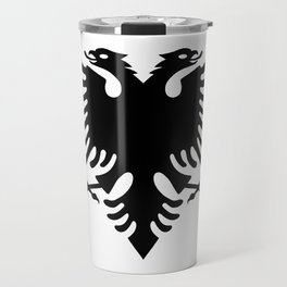 Albanian Eagle Travel Mug