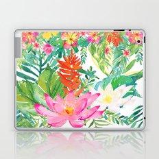 Aloha Tropical Flowers Hawaii Laptop & iPad Skin