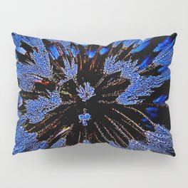 Dew On Dandelion, Wild Mandala Pillow Sham