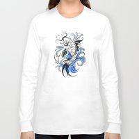 koi fish Long Sleeve T-shirts featuring Koi Fish  by JonathanStephenHarris