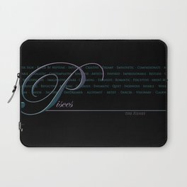 Sign Language for Pisces Laptop Sleeve