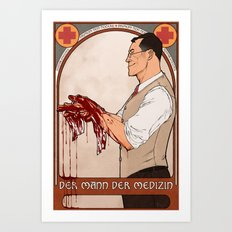 man of medicine Art Print