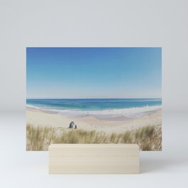 Just the 3 of us...By the Sea Mini Art Print