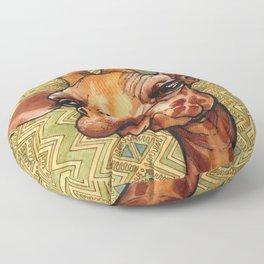 Deanna's Giraffe Floor Pillow