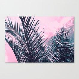Summer Palms - Cali Vibes #1 #tropical #decor #art #society6 Canvas Print