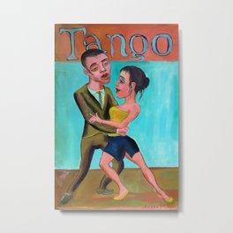 Tango milonguero 3 Metal Print
