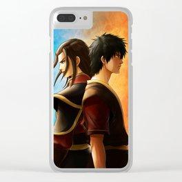 Azula and Zuko Clear iPhone Case