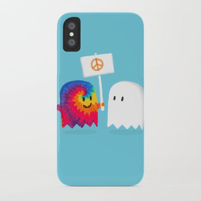 Hippie ghost iPhone Case