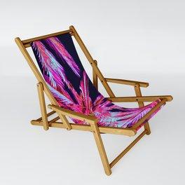 Moonlit Plants Sling Chair