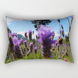 Lavender Fields In Guatemala Rectangular Pillow