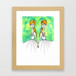 Keira & Kala Framed Art Print