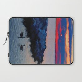 Two Geese Laptop Sleeve