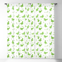 Chicken Run Blackout Curtain