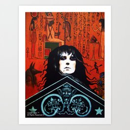 Laurie Cabot Egyptian Mystic Art Print