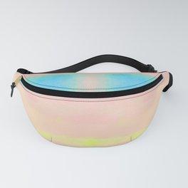 Watercolor Pastel Tides Blush Fanny Pack