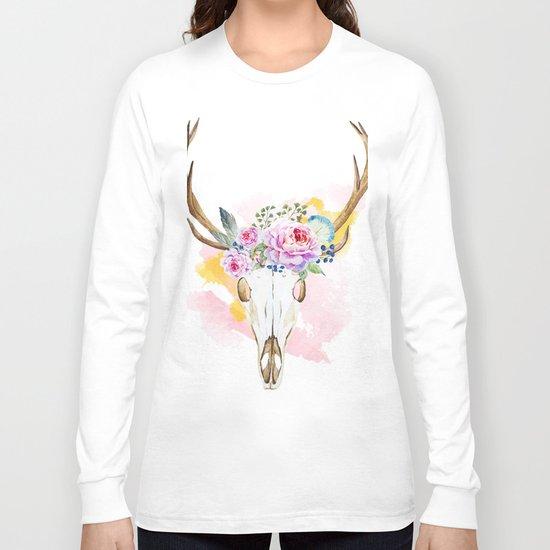 Animal Skull 02 Long Sleeve T-shirt