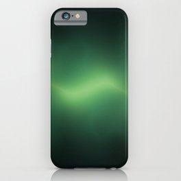 ACOUSTIC WAVES (GREEN) iPhone Case