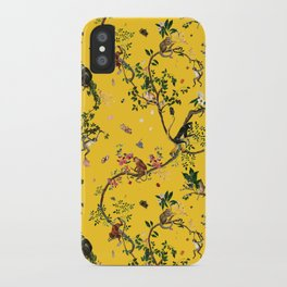 Monkey World Yellow iPhone Case