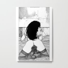 asc 773 - Le sacré coeur (Pray for me) Metal Print