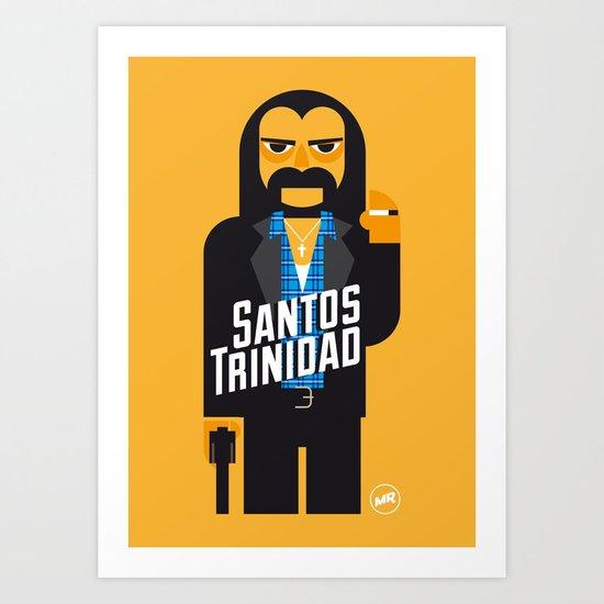 Santos Trinidad Art Print
