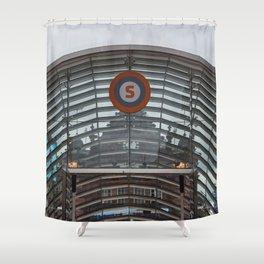 Glasgow city Shower Curtain
