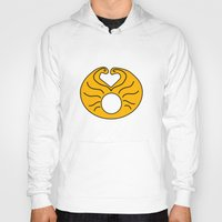 hedwig Hoodies featuring Hedwig Wig! by byebyesally