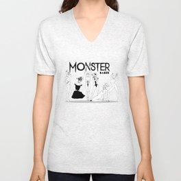 monster babes Unisex V-Neck