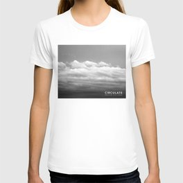 Circulate - Clouds T-shirt