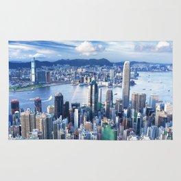 Hong Kong-Buildings Rug