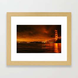 gg bridge Framed Art Print
