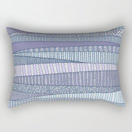 Winter Fields Rectangular Pillow