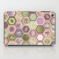 polygon iPad Cases featuring Polygon pattern by /CAM