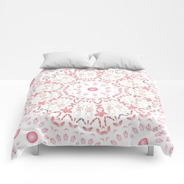 Love Eternal Pink Comforters
