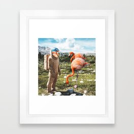 Alternate Reality Framed Art Print
