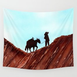 Gold Mining Wall Tapestry