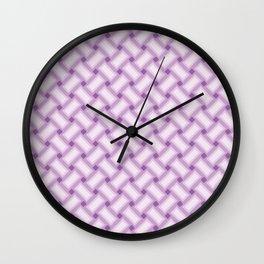 Interweaved Celtic Knot Pattern Wall Clock