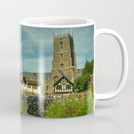 Dunster Church and secret garden Coffee Mug