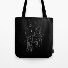 float into oblivion Tote Bag