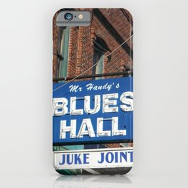 Mr. Handy's Blues Hall Juke Joint iPhone Case