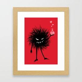 Evil Bug Made A Love Potion For You Framed Art Print