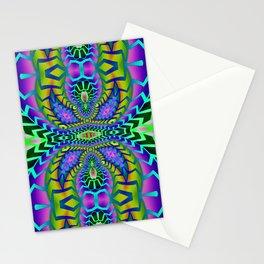 Tribal Rainbow Lotus Stationery Cards