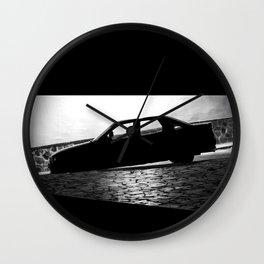Car at night Wall Clock