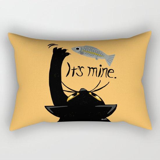 It is mine Rectangular Pillow