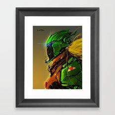 Legend of Zelda Link Cyber evolution Fan Art Framed Art Print