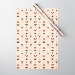 Butterflys + Moths Wrapping Paper