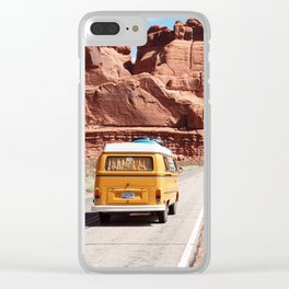 Combi National Park Clear iPhone Case