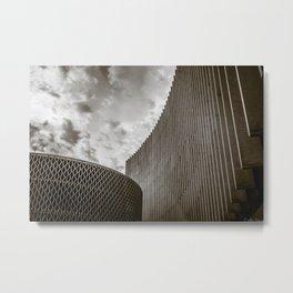 Texturized Brutalism Metal Print